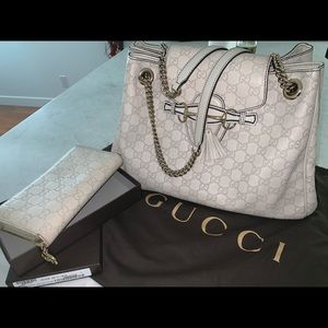Gucci bag & wallet